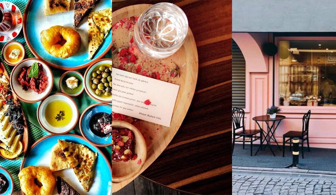 İstanbul'da Cafe & Restaurant Önerileri