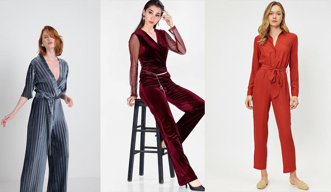 2019 Kadın Tulum Elbise Modelleri