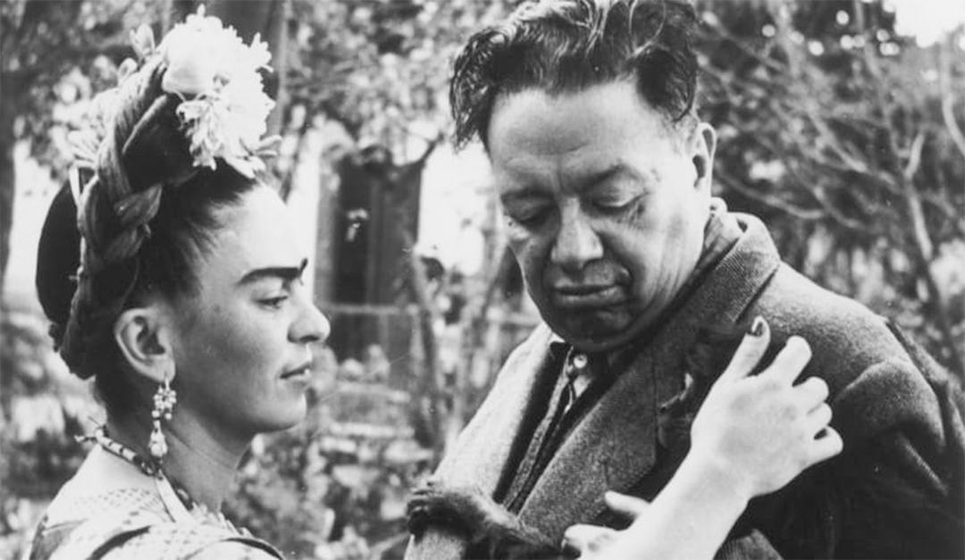 Frida Kahlo ile Diego Rivera