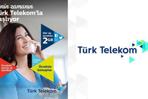 Türk Telekom Kadınlara Özel Senin Zamanın Bedava internet Kampanyası