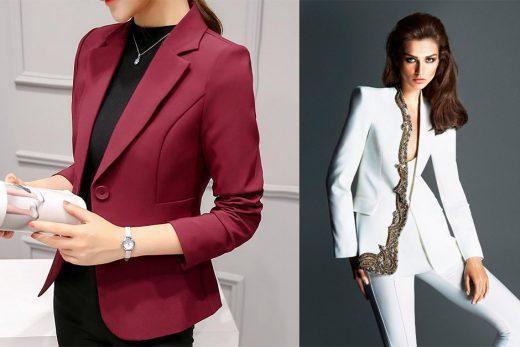 Kadın Takım Elbise Modelleri