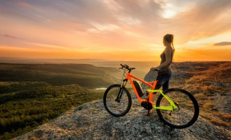 bacakları inceltmek için bisiklet