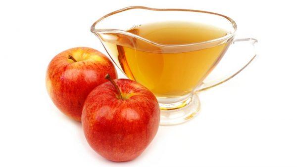 sağlıklı saçlar doğal elma sirkesi kürü