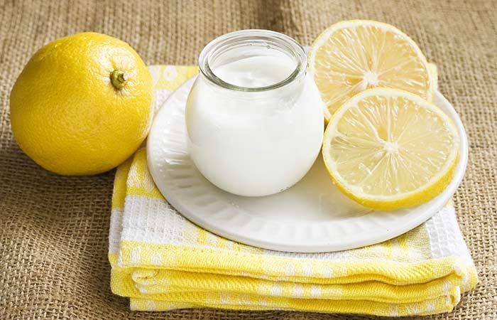 Cilt beyazlatan limon maskeleri