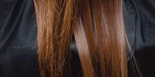 kırık saç uçları için bakım ürünleri