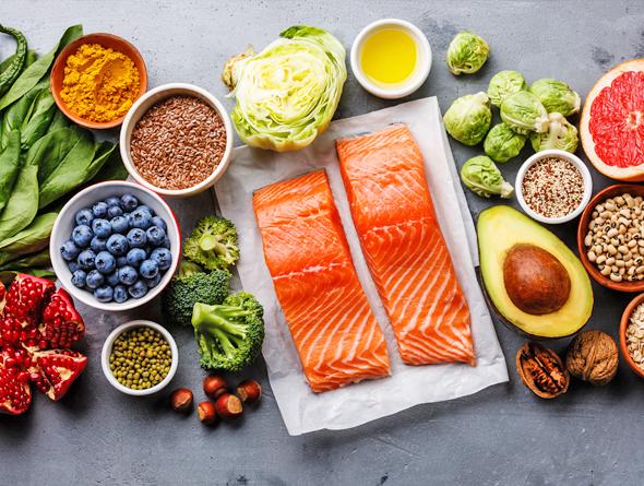 sağlıklı bir cilt için doğru beslenme