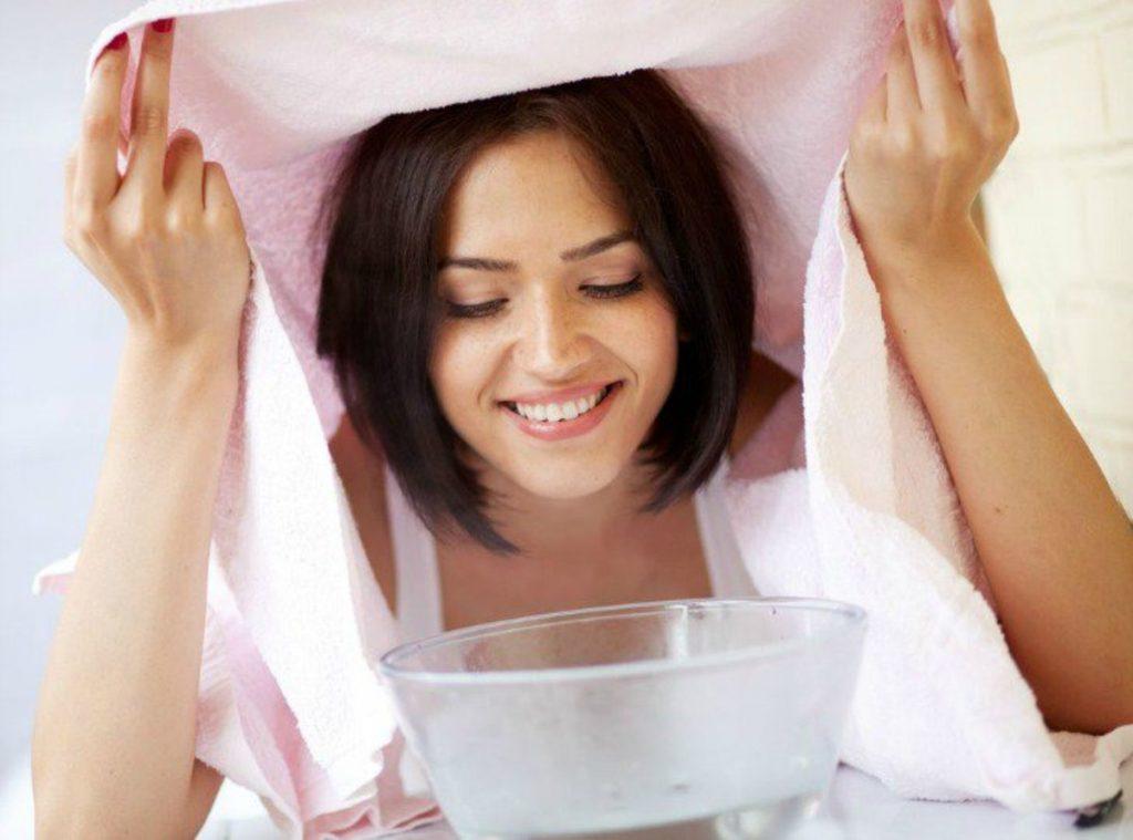 buhar banyosu ile cilt bakımı