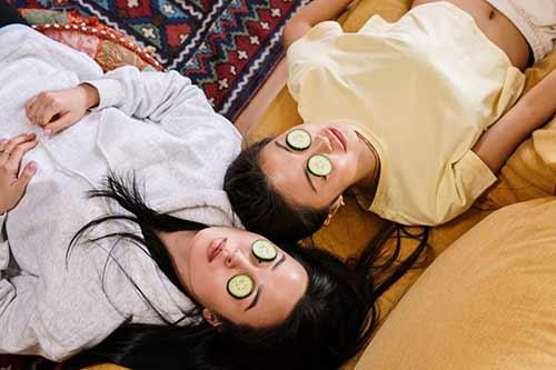 doğal salatalık maskeleri