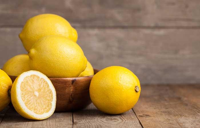 limonlu güzellik maskesi